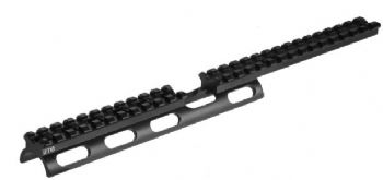 Leapers UTG Tactical Scout Slim Scope Base Rail for Ruger 10/22 Rifles 26 slot - MNT-R22SS26